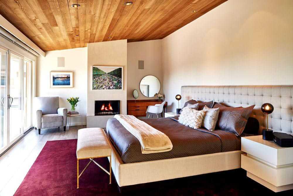 Inspirasi Renovasi Kamar Tidur dengan Gaya Mid-Century Modern yang Elegan | Foto artikel Arsitag