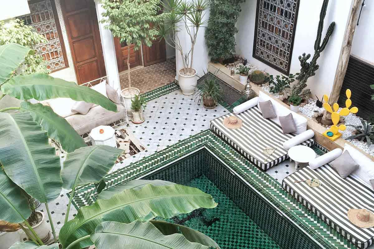 Taman Maroko kekinian karya The Blonde Abroad // teriakitalks.com