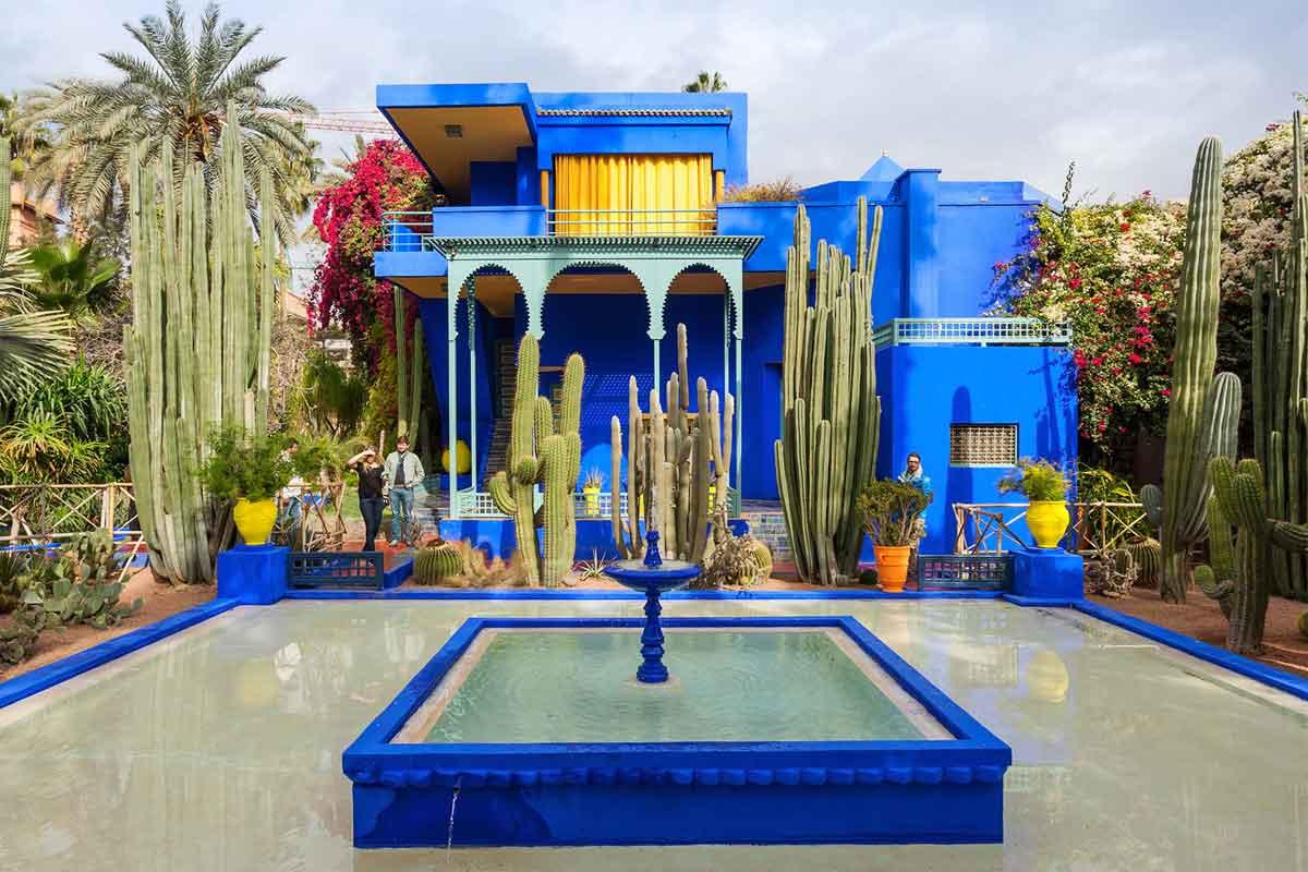 Taman Maroko modern karya Chris Plavidal // dmagazine.com