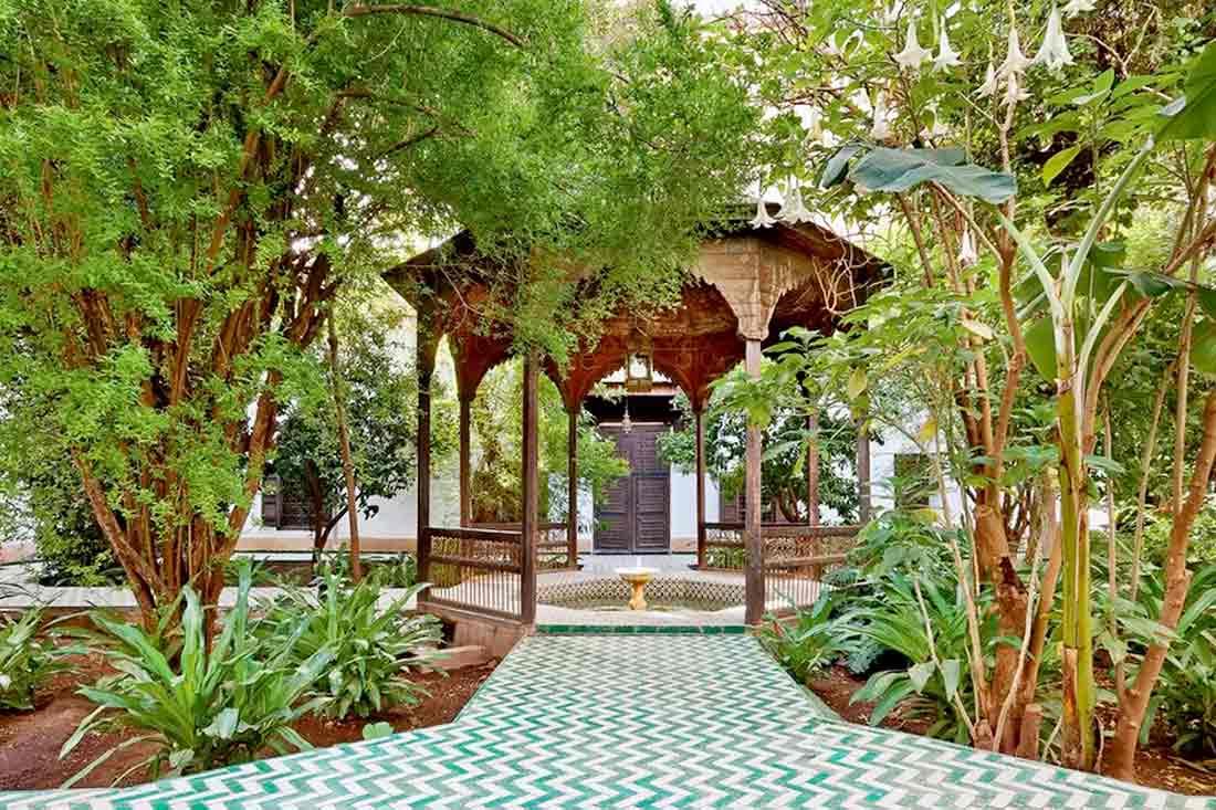 Taman Maroko yang rindang karya Alessio Mei // houseandgarden.co.uk