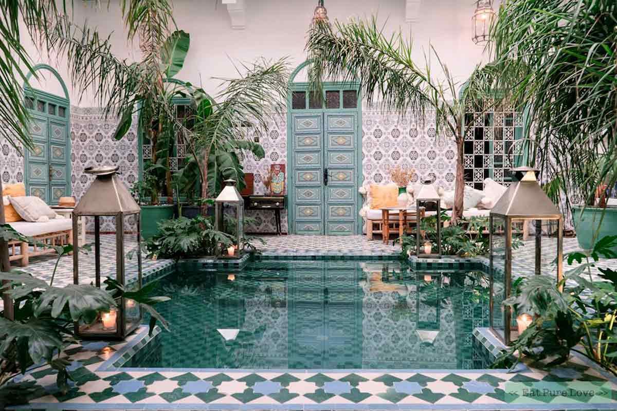 Yuk, Nikmati Keindahan Menakjubkan dari Desain Taman Maroko   Foto artikel Arsitag