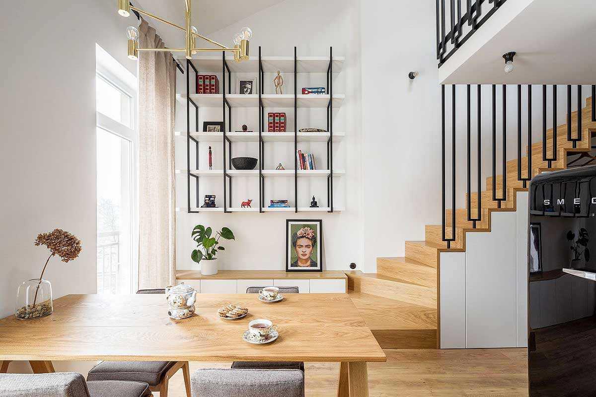 Desain Apartemen Mungil dengan Mezanin yang Super Cantik   Foto artikel Arsitag