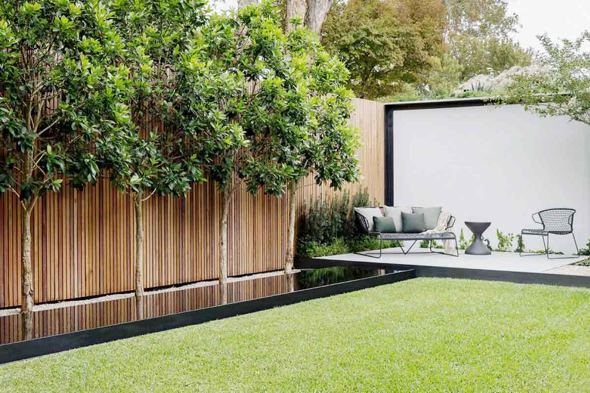 Patio taman karya Secret Gardens // secretgardens.com.au