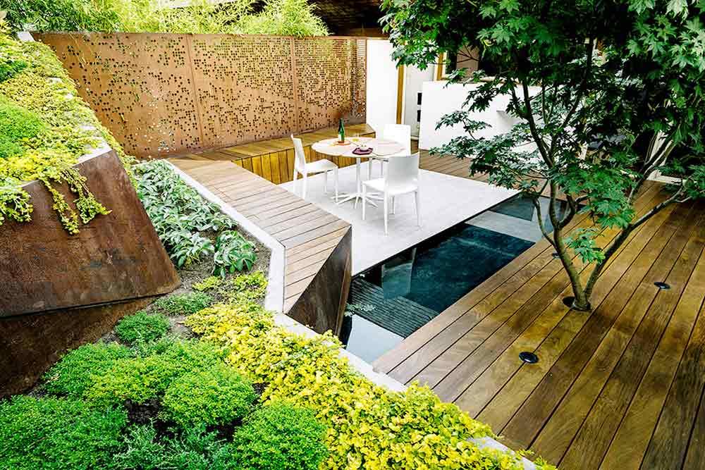 Desain Patio Taman Belakang Rumah Impian Super Cantik | Foto artikel Arsitag