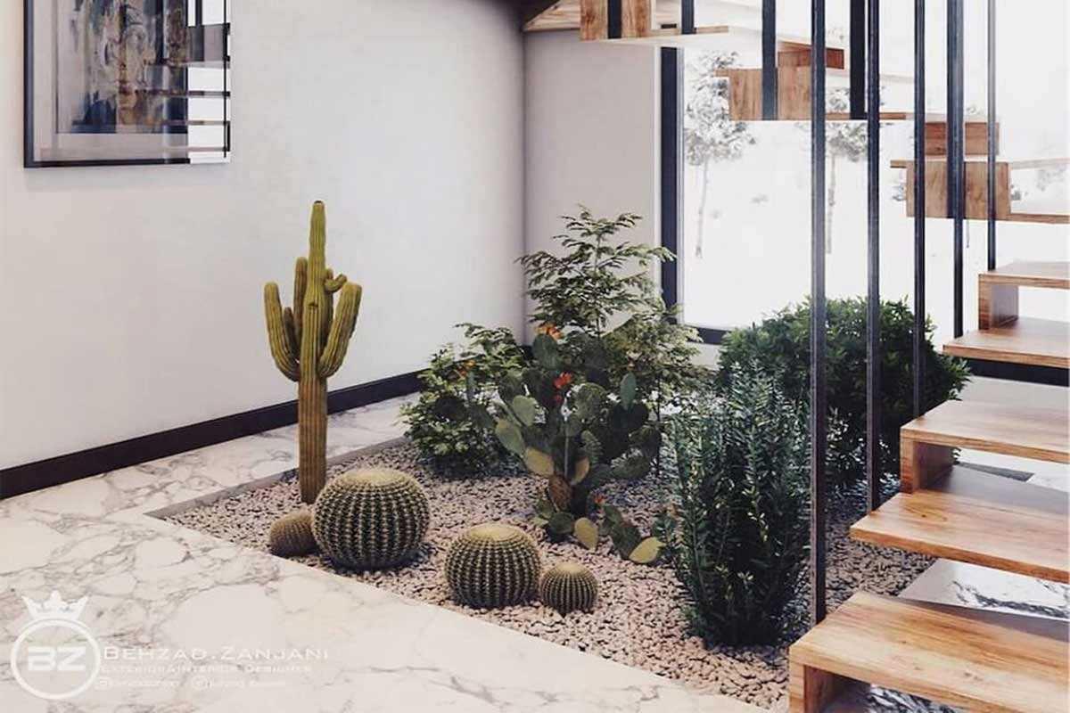 Taman kaktus karya Behzad Zanjani // theultralinx.com