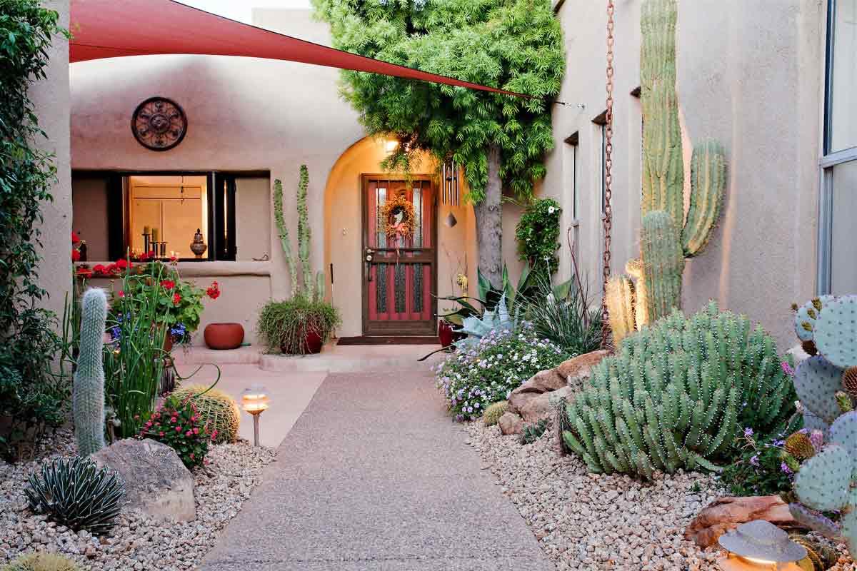 Suka dengan Kaktus? Yuk, Buat Taman Kaktus di Rumah Anda | Foto artikel Arsitag