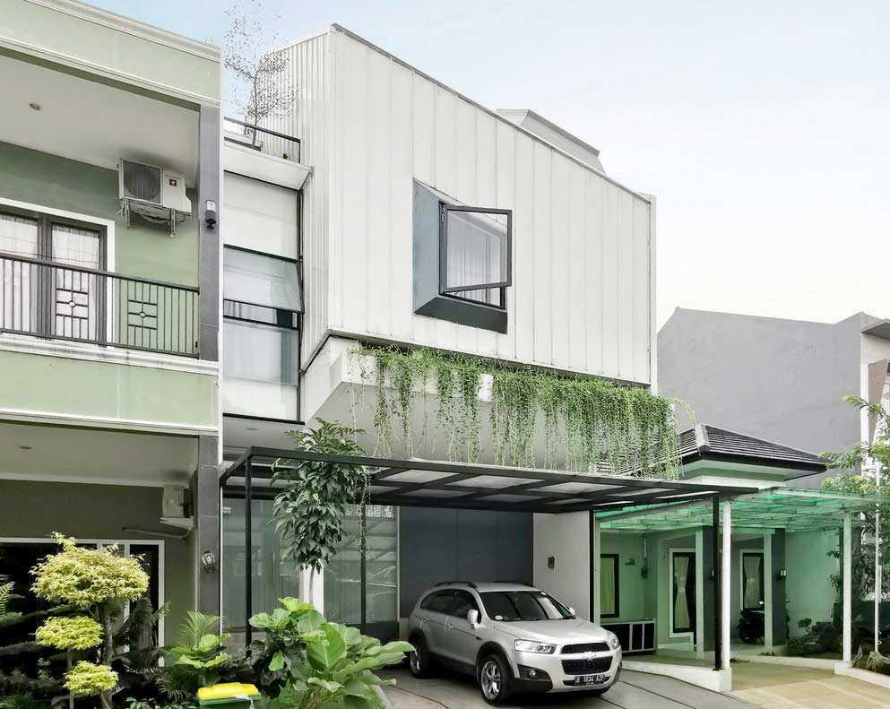 Desain Rumah Split Level Dengan Skylight Super Keren Arsitag