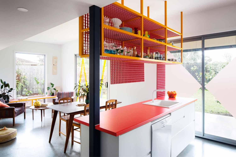 Cantiknya Desain Kotak-kotak dan Warna Cerah yang ...