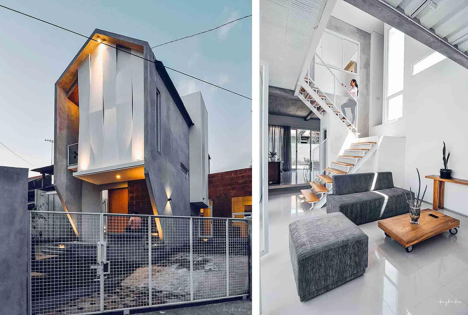 Desain Arsitektur Rumah Industrial Minimalis yang Simpel dan Elegan | Foto artikel Arsitag