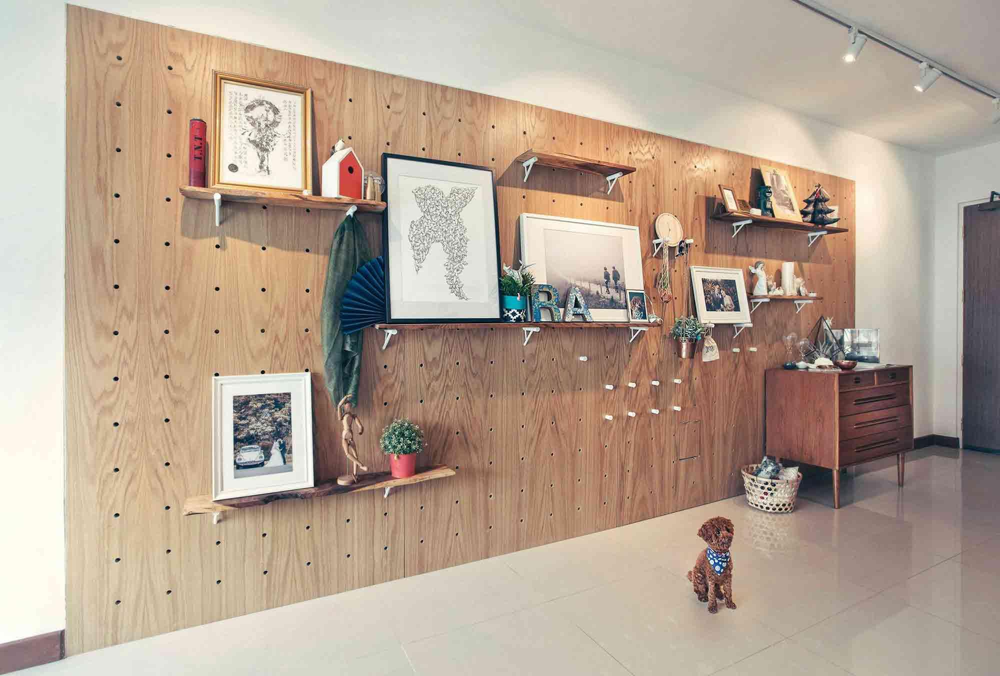 Rak dinding modular karya HelloEmbryo, via arsitag.com