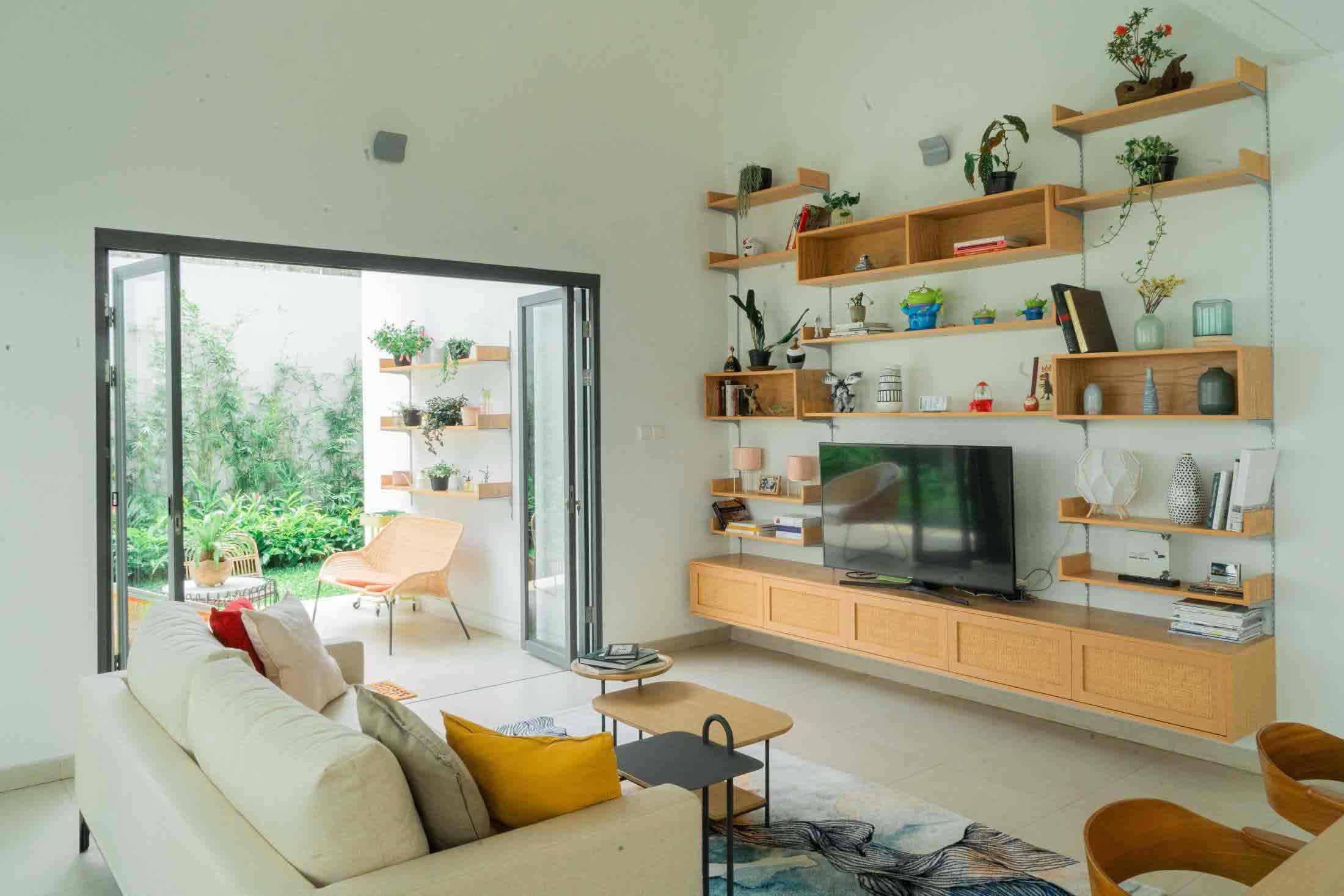 Inspirasi Rak Dinding Serbaguna yang Sekaligus Mempercantik Ruangan | Foto artikel Arsitag