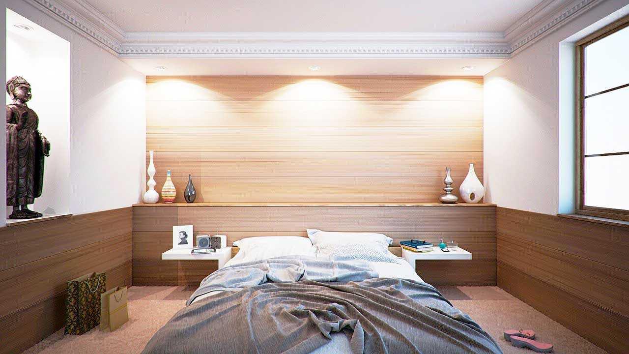 Recessed lighting memberikan penerangan untuk seluruh ruangan dengan lembut, foto oleh keresi72 via pixabay.com