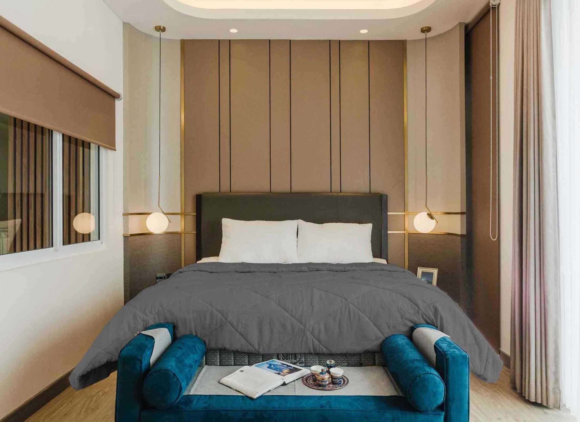 Ide Lampu Kamar Tidur Cantik yang Bikin Nyaman   Foto artikel Arsitag