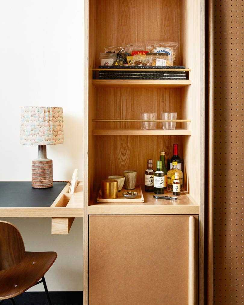 Earthy tone dalam desain hotel karya Kengo Kuma, via design-milk.com