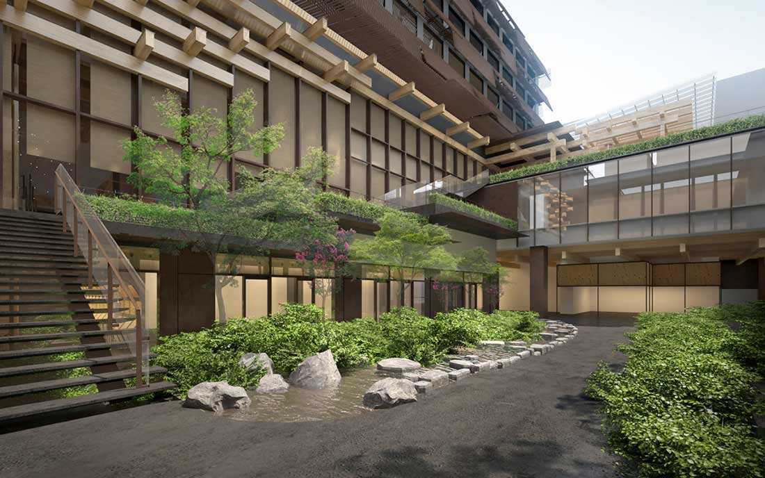 Desain Hotel Butik Super Classy dan Stylish di Kyoto | Foto artikel Arsitag