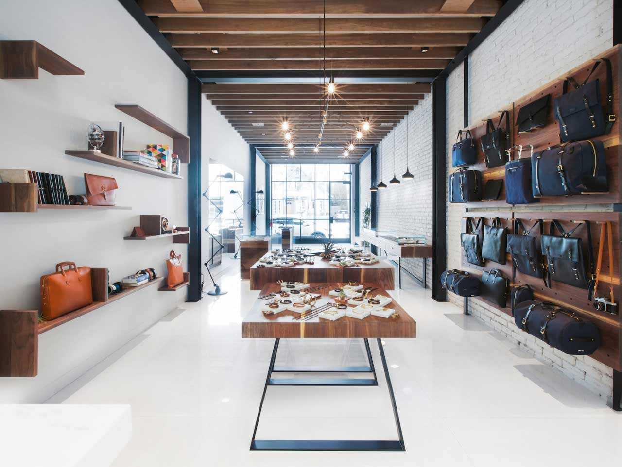 Desain Interior Toko dengan Kafe Mungil yang cantik di Los Angeles | Foto artikel Arsitag