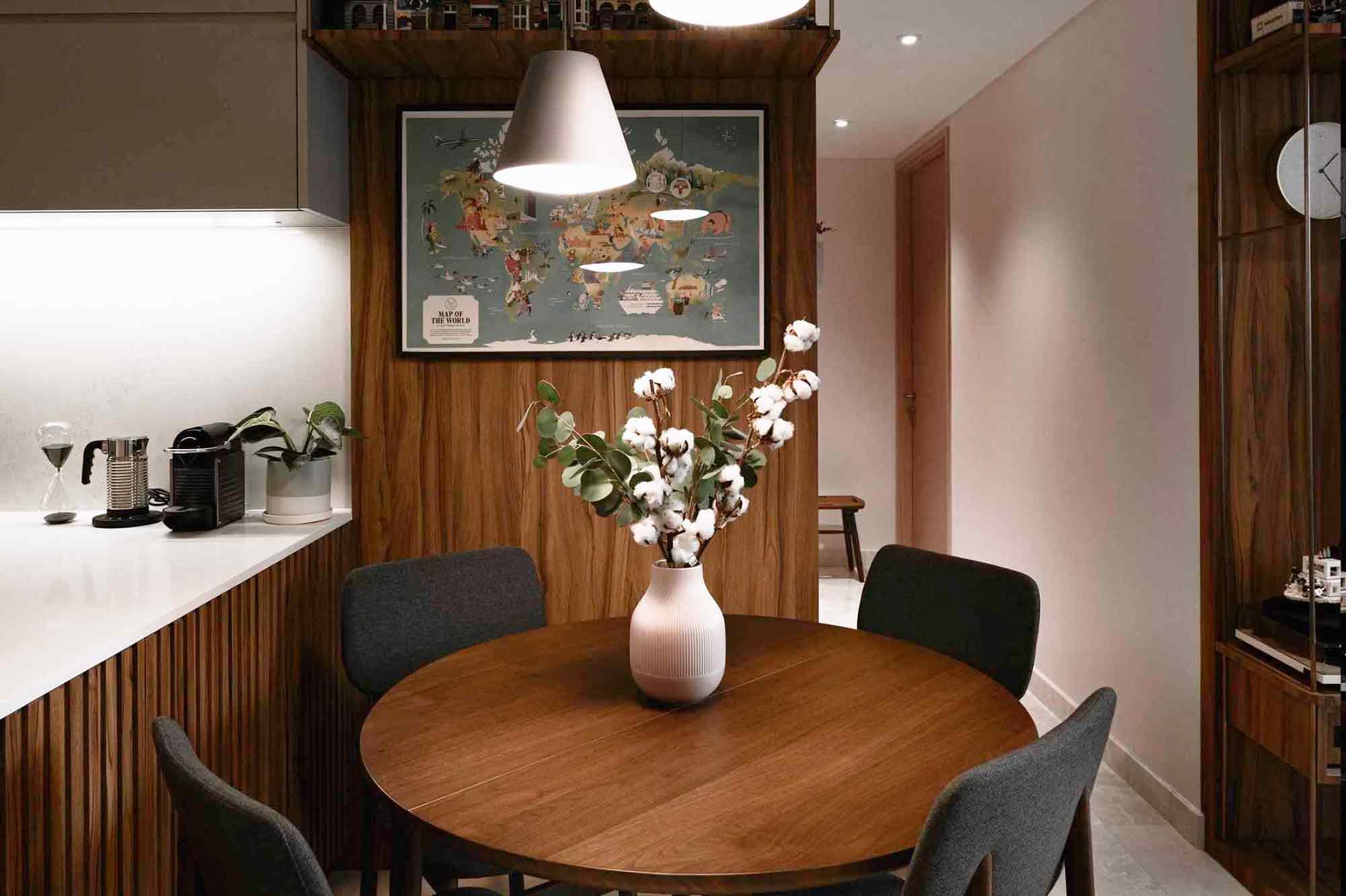 Ruang makan minimalis karya Helloembryo, via arsitag.com