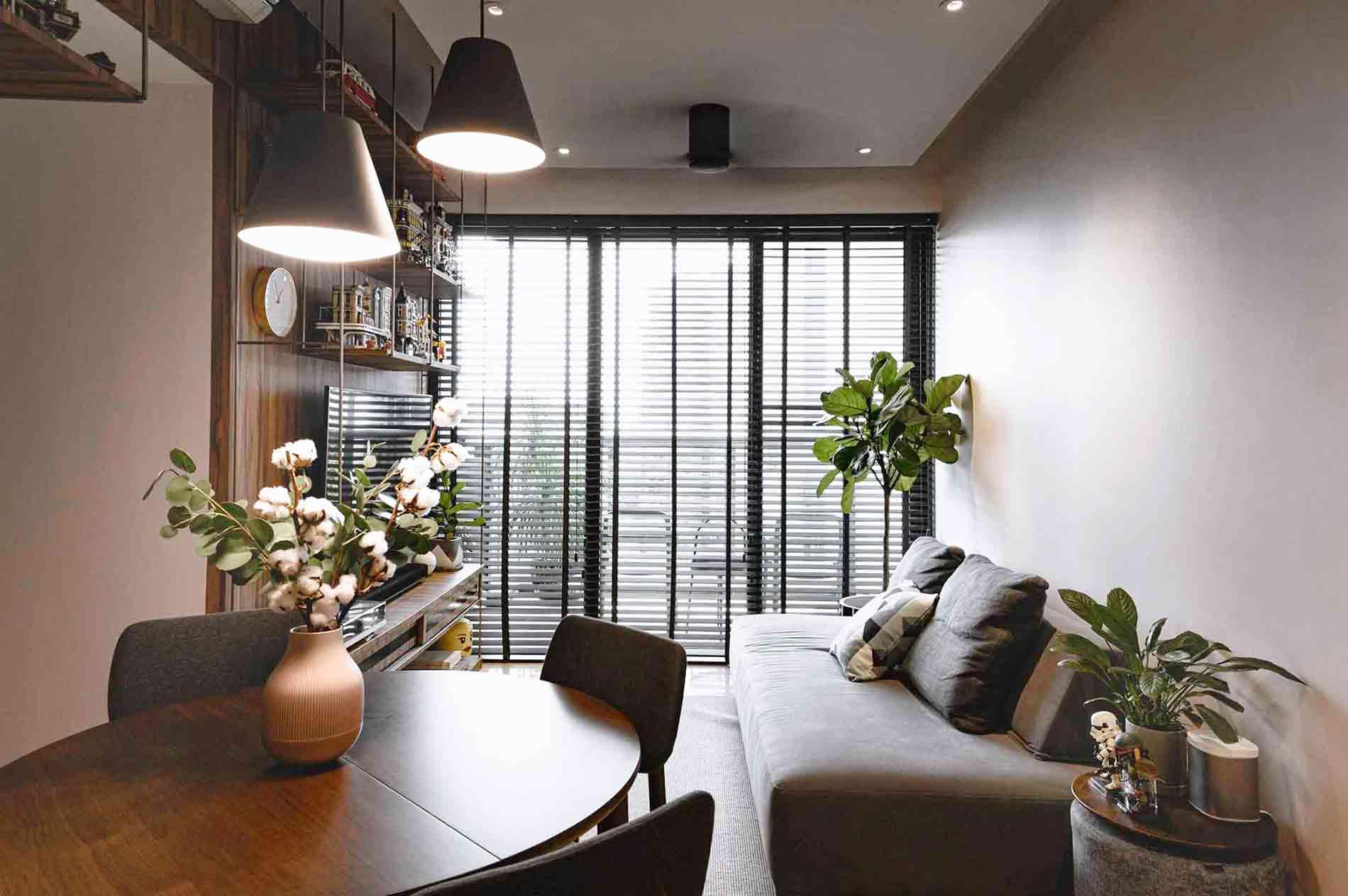 Desain Apartemen Hangat dengan Earthy Tone dan Elemen Kayu | Foto artikel Arsitag
