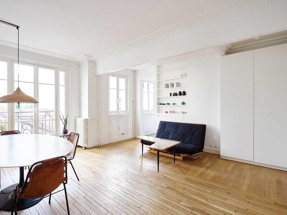 Desain jendela apartemen minimalis karya Septembre Architecture via organized-home.com
