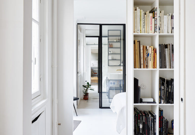 Desain Minimalis Cantik Apartemen Mungil di Paris | Foto artikel Arsitag