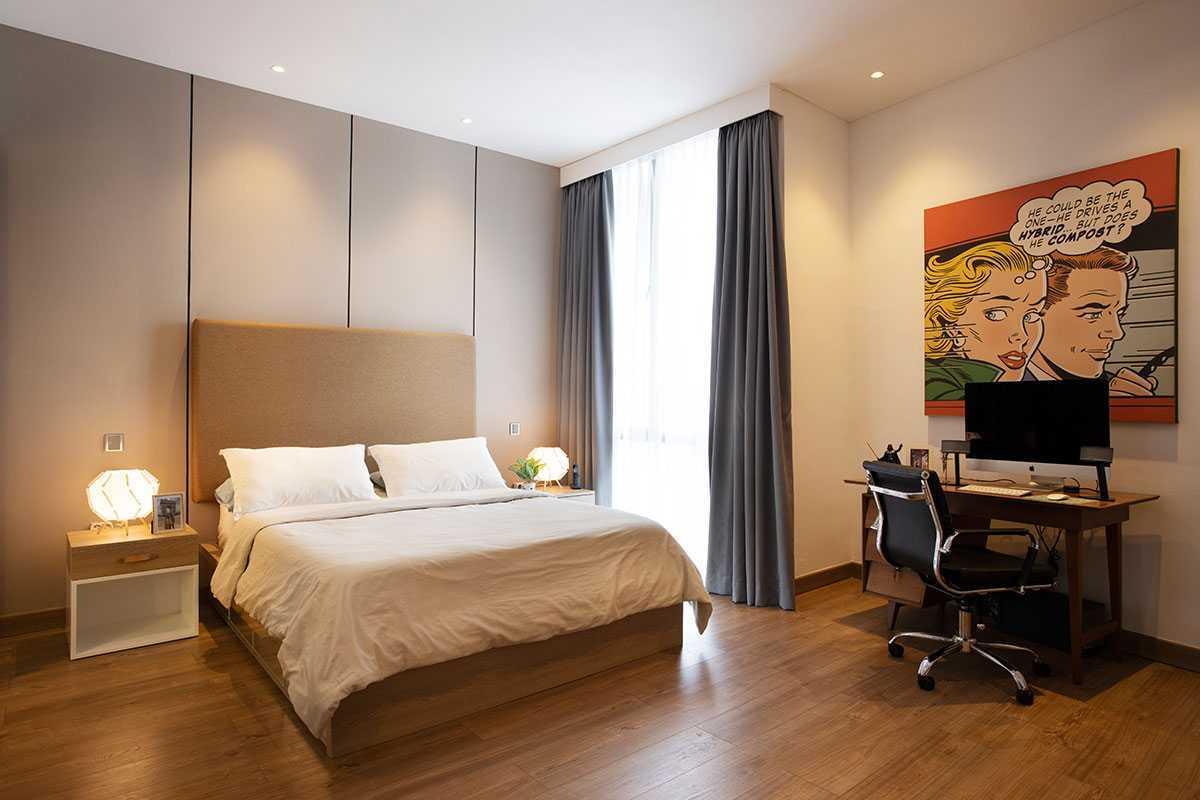 Desain kamar tidur utama karya Vindo Design, via arsitag.com