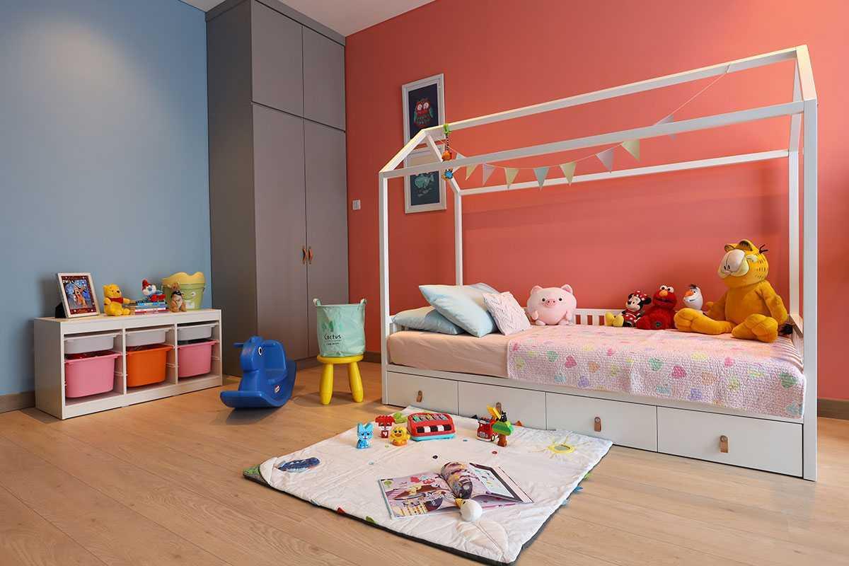Desain kamar tidur anak karya Vindo Design, via arsitag.com