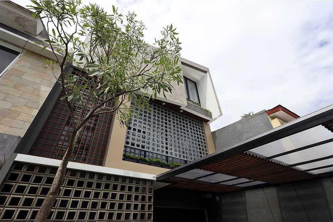 Desain Rumah Eklektik dengan Sentuhan Warna-Warni yang Berani | Foto artikel Arsitag