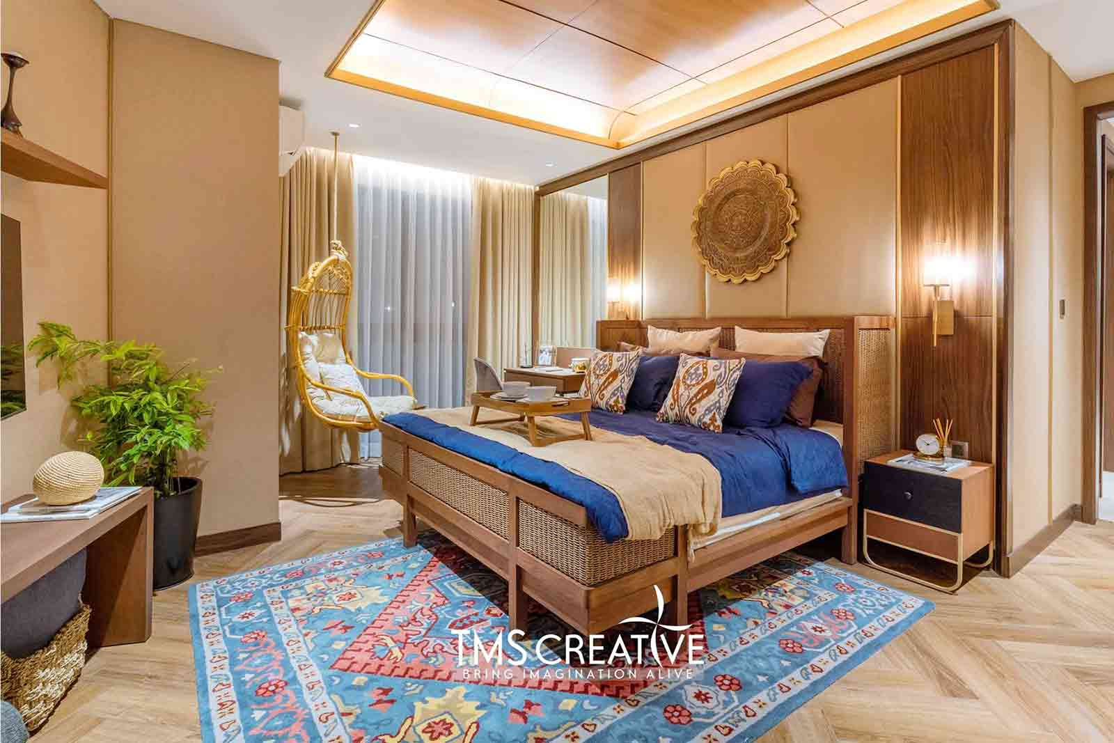 Interior penuh detail karya TMS Creative, via arsitag.com