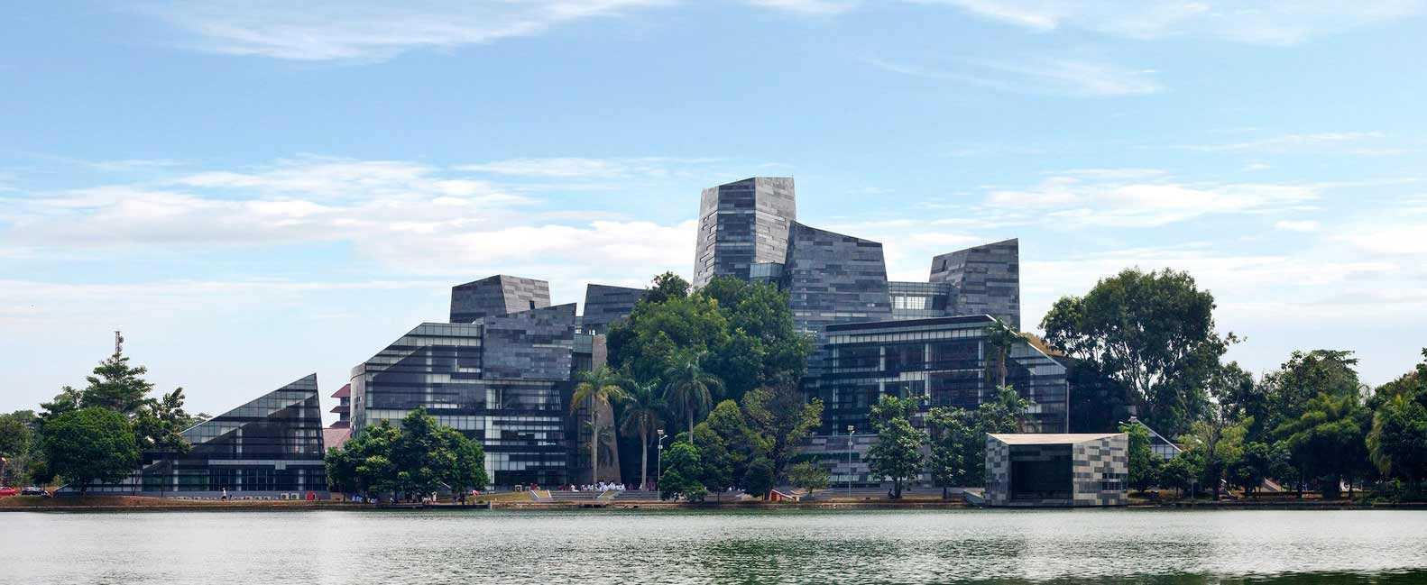 Desain Arsitektur Perpustakaan UI yang Super Keren dan Futuristik | Foto artikel Arsitag
