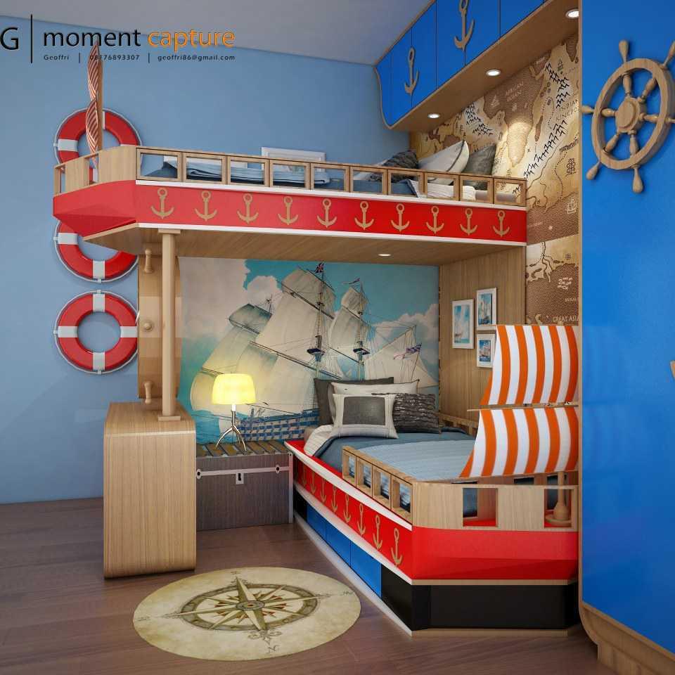 Dekorasi kamar tema kapal laut, karya Momentcapture, via arsitag.com