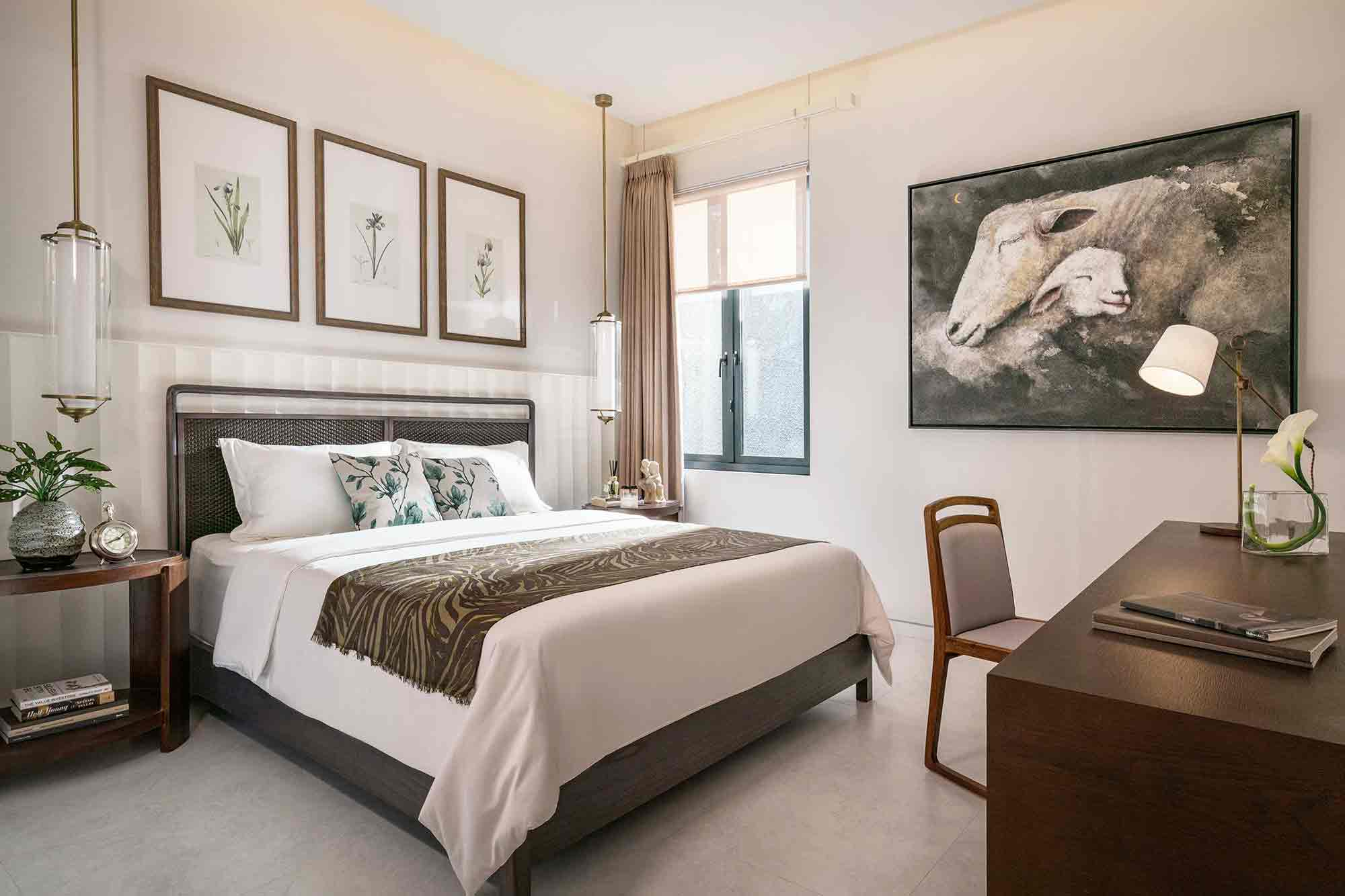 Suasana kamar tidur, karya YO Design Architect, via arsitag.com